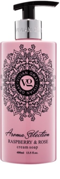 Vivian Gray Aroma Selection Raspberry & Rose кремове рідке мило