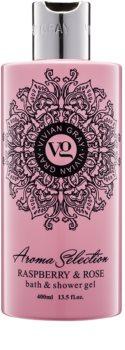 Vivian Gray Aroma Selection Raspberry & Rose sprchový a kúpeľový gél