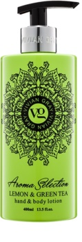 Vivian Gray Aroma Selection Lemon & Green Tea Lapte de mâini și de corp