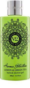 Vivian Gray Aroma Selection Lemon & Green Tea gel de dus si baie