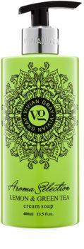 Vivian Gray Aroma Selection Lemon & Green Tea flüssige Cremeseife