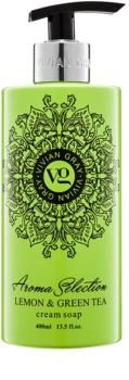 Vivian Gray Aroma Selection Lemon & Green Tea krémové tekuté mydlo