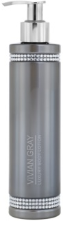Vivian Gray Crystals Gray Body Lotion