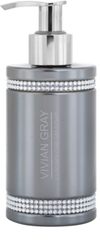 Vivian Gray Crystals Gray cremige Seife