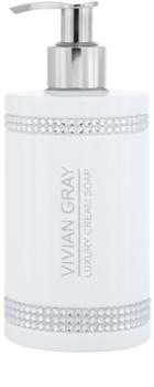 Vivian Gray Crystals White Creamy Soap
