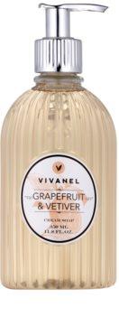 Vivian Gray Vivanel Grapefruit&Vetiver flüssige Cremeseife