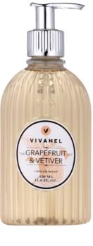 Vivian Gray Vivanel Grapefruit&Vetiver krémové tekuté mydlo