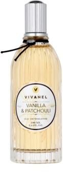 Vivian Gray Vivanel Vanilla&Patchouli Eau de Toilette für Damen 100 ml