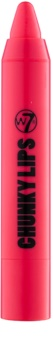 W7 Cosmetics Chunky Lips krémová hydratačný rúž