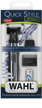 Wahl Quick Style Lithium aparador de pêlos para rosto