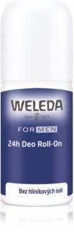 Weleda Men déodorant roll-on sans sels d'aluminium 24h