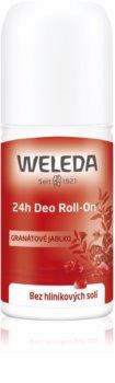 Weleda Pomegranate дезодорант roll-on без вмісту солей алюмінію 24 години