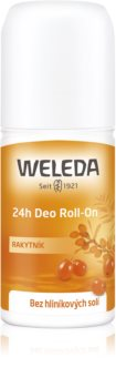 Weleda Sea Buckthorn Aluminium Salts Free Deodorant Roll-On With The 24 Hours Protection