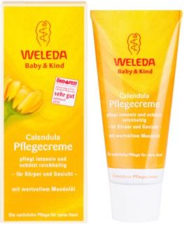 Weleda Baby and Child schützende Creme für Kinder für Körper und Gesicht
