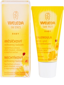 Weleda Baby and Child захисний бальзам з екстрактом календули для дітей