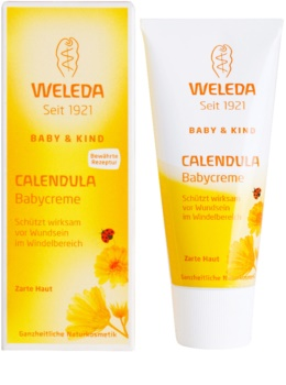Weleda Baby and Child creme com calêndula para bébes contra assaduras
