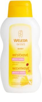 Weleda Baby and Child loțiune de tratament cu gălbenele