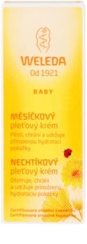 Weleda Baby and Child crema de fata cu galbenele