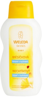 Weleda Baby and Child засіб для ванни з екстрактом календули та травами