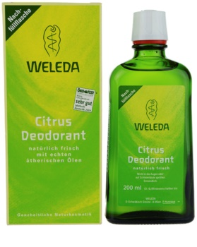Weleda Citrus dezodorant nadomestno polnilo