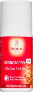 Weleda Granátové jablko dezodorant roll-on bez obsahu hliníkových solí 24h
