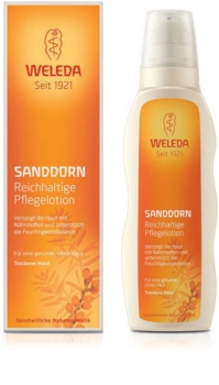 Weleda Sanddorn Sanddorn nährende Körpermilch