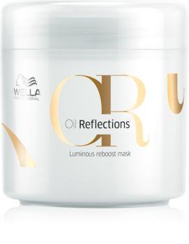 wella professionals oil reflections masque nourrissant pour des cheveux lisses et brillants. Black Bedroom Furniture Sets. Home Design Ideas