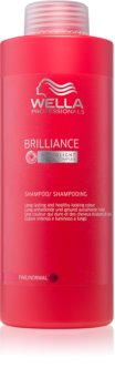 Wella Professionals Brilliance shampoing pour cheveux fins et colorés