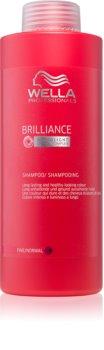 Wella Professionals Brilliance Shampoo  voor Fijn, Gekleurd Haar