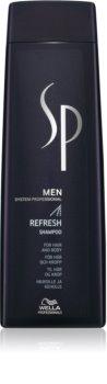 Wella Professionals SP Men освіжаючий шампунь для волосся та тіла