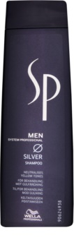 Wella Professionals SP Men champô para cabelo cinzento