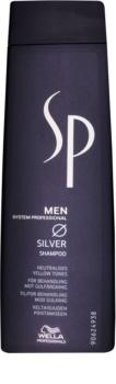 Wella Professionals SP Men Shampoo für graues Haar