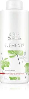 Wella Professionals Elements shampoo ricostituente  non contiene solfati