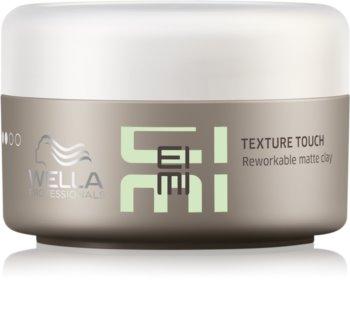 Wella Professionals Eimi Texture Touch argila para styling de cabelo com efeito matificante