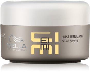 Wella Professionals Eimi Just Brilliant pomádé a fénylő és selymes hajért