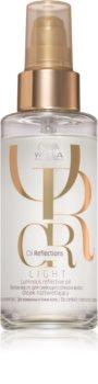 Wella Professionals Oil Reflections posvetlitveno olje za sijaj in mehkobo las