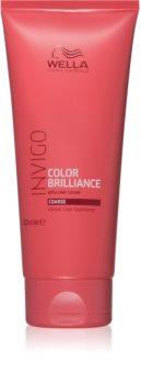 Wella Professionals Invigo Color Brilliance après-shampoing pour cheveux épais et colorés
