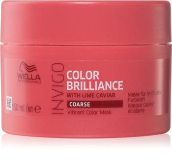 Wella Professionals Invigo Color Brilliance maska pro husté barvené vlasy