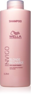 Wella Professionals Invigo Blonde Recharge Colour-Protecting Shampoo for Blonde Hair