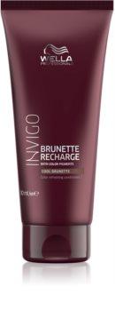 Wella Professionals Invigo Brunette Recharge kondicionér pro oživení hnědé barvy vlasů