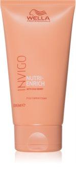 Wella Professionals Invigo Nutri - Enrich bezoplachový krém pro uhlazení a výživu suchých a nepoddajných vlasů