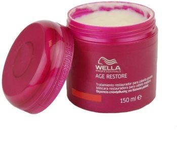 Wella Professionals Age Restore maszk erős, vastag és száraz hajra