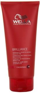 Wella Professionals Brilliance Conditioner  voor Fijn, Gekleurd Haar