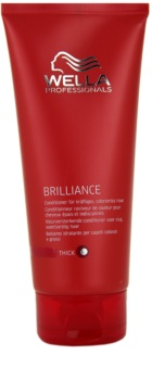 Wella Professionals Brilliance balzam za grobe in barvane lase