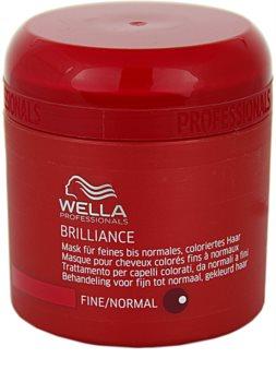 Wella Professionals Brilliance maska pro jemné, barvené vlasy