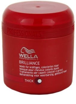 Wella Professionals Brilliance maschera per capelli grossi e tinti