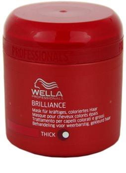 Wella Professionals Brilliance maska pro hrubé, barvené vlasy