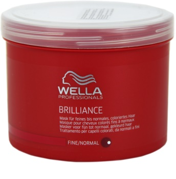 Wella Professionals Brilliance Mask For Fine, Colored Hair