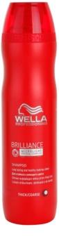 Wella Professionals Brilliance šampon pro hrubé, barvené vlasy