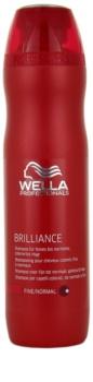 Wella Professionals Brilliance Shampoo For Fine, Colored Hair